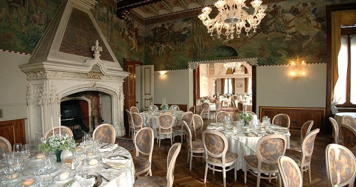Le sale della villa Rizzoli