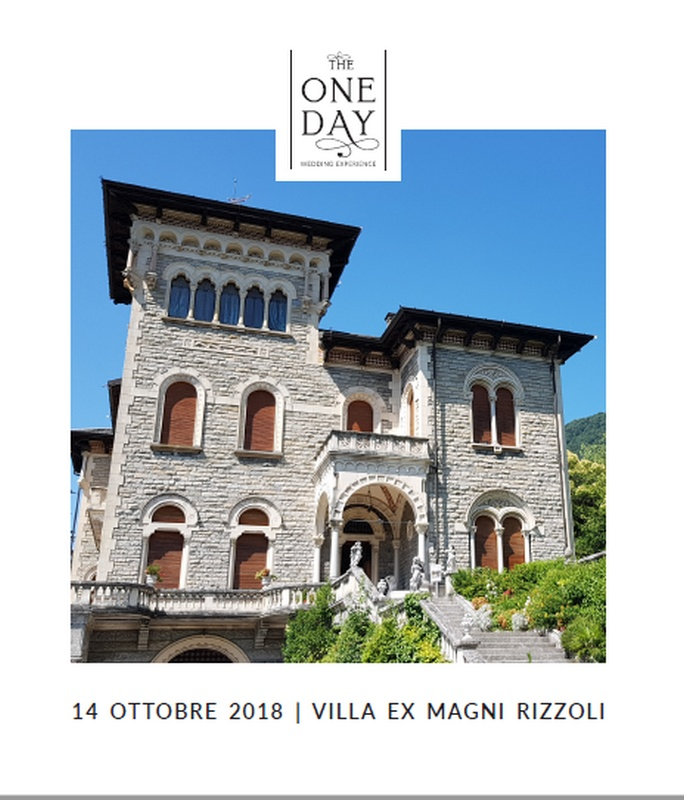 Open Day the One Day villa Rizzoli canzo co